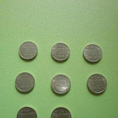 Monedas locales: LOTE 8 FICHAS DINERARIAS MONEDA EMPRESA LET THE FUN SHINE IN DINERO COMERCIAL FICHA DINERARIA. Lote 54079941