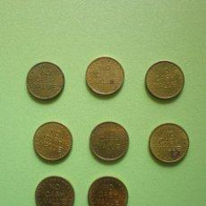 Monedas locales: LOTE 8 FICHAS DINERARIAS MONEDA EMPRESA CATCOIN DINERO COMERCIAL FICHA DINERARIA. Lote 54079986