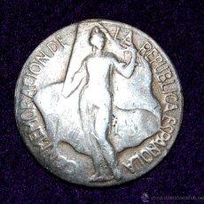 Monedas locales: MEDALLA DE PLATA. CONMEMORACIÓN DE LA REPÚBLICA ESPAÑOLA. 1931-37. MARTINI & ROSSI. FICHA.. Lote 54914923