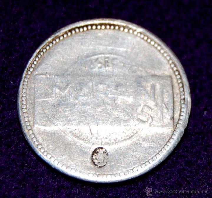 Monedas locales: MEDALLA DE PLATA. CONMEMORACIÓN DE LA REPÚBLICA ESPAÑOLA. 1931-37. MARTINI & ROSSI. FICHA. - Foto 2 - 54914923