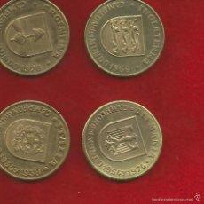Monedas locales: 4 MONEDAS O MEDALLAS DEL MUNDIAL DE ESPAÑA 1982 . Lote 56532648