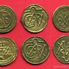 Monedas locales: LOTE DE 6 MONEDAS , PELLOFA DE GIRONA , GERONA , ORIGINAL , A6. Lote 56571054