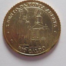 Monedas locales: FICHA/MEDALLA/TOKEN/JETÓN **SAN BENTO DA PORTA ABERTA** RÍO CALDO. PORTUGAL. Lote 56828112