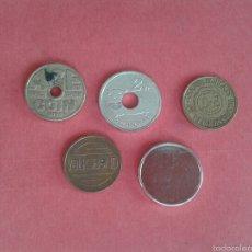 Monedas locales: LOTE DE JETONES. FICHAS. TOKENS.. Lote 57137258