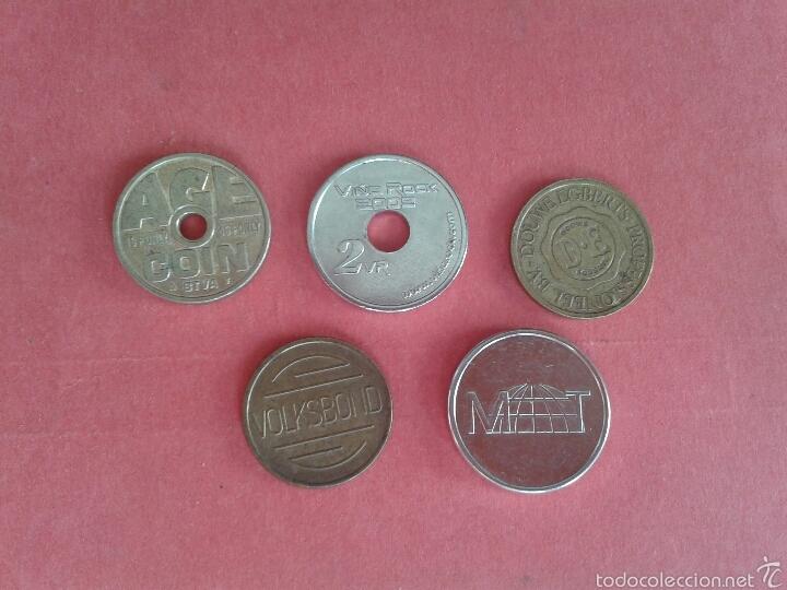 Monedas locales: LOTE DE JETONES. FICHAS. TOKENS. - Foto 2 - 57137258