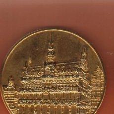Monedas locales: PRECIOSA MEDALLA BRONCE DE LA SERIE EUROPA ( BELGICA ) PESO MAS DE 50 GRAMOS VER FOTOS. Lote 57394878