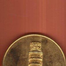 Monedas locales: PRECIOSA MEDALLA BRONCE DE LA SERIE EUROPA ( ITALIA ) PESO MAS DE 50 GRAMOS VER FOTOS. Lote 57396699