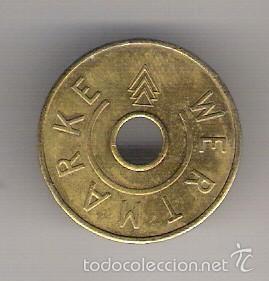 FICHA WERTMARKE KARCHER (Numismática - España Modernas y Contemporáneas - Locales y Fichas Dinerarias y Comerciales)