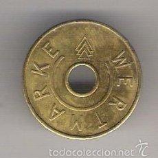 Monedas locales: FICHA WERTMARKE KARCHER. Lote 57498144