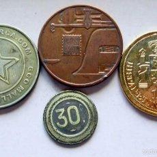 Monedas locales: 4 ESPAÑOLAS. Lote 57658730
