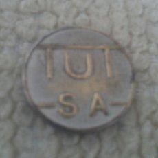 Monedas locales: FICHA TUTSA. Lote 57991284