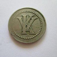Monedas locales: FICHA * 1 PESETA * KURSAL * VALENCIA. Lote 58513414