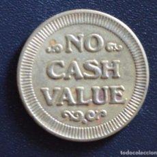 Monedas locales: FICHA - JETON - TOKEN - NO CASH VALUE. Lote 61849944
