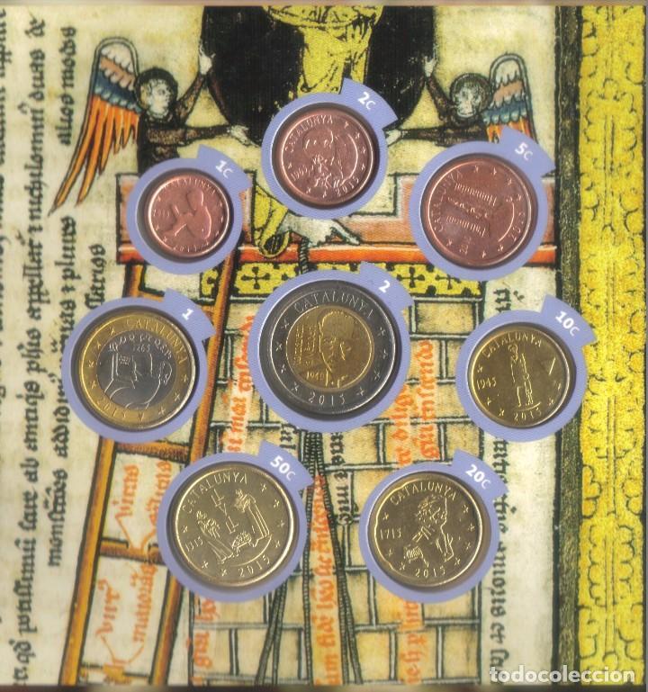 Monedas locales: colección completa euroset Cataluña 2014 y 2015 + 2 blisters de 2 - Foto 2 - 62650660