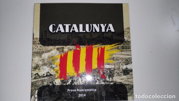 Monedas locales: colección completa euroset Cataluña 2014 y 2015 + 2 blisters de 2 - Foto 6 - 62650660