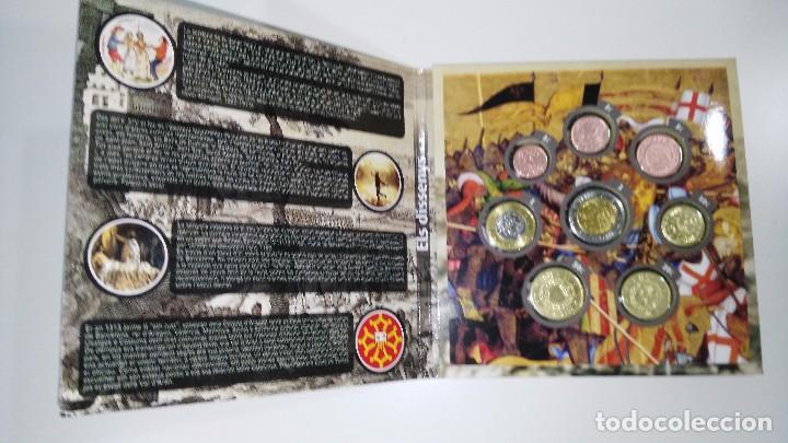 Monedas locales: colección completa euroset Cataluña 2014 y 2015 + 2 blisters de 2 - Foto 7 - 62650660