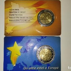 Monedas locales: PRUEBA MONEDA DE 2 DE CATALUNYA 2014 + 2015. Lote 105194800