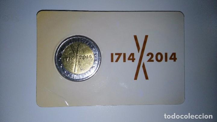 Monedas locales: PRUEBA MONEDA DE 2 DE CATALUNYA 2014 + 2015 - Foto 3 - 105194800