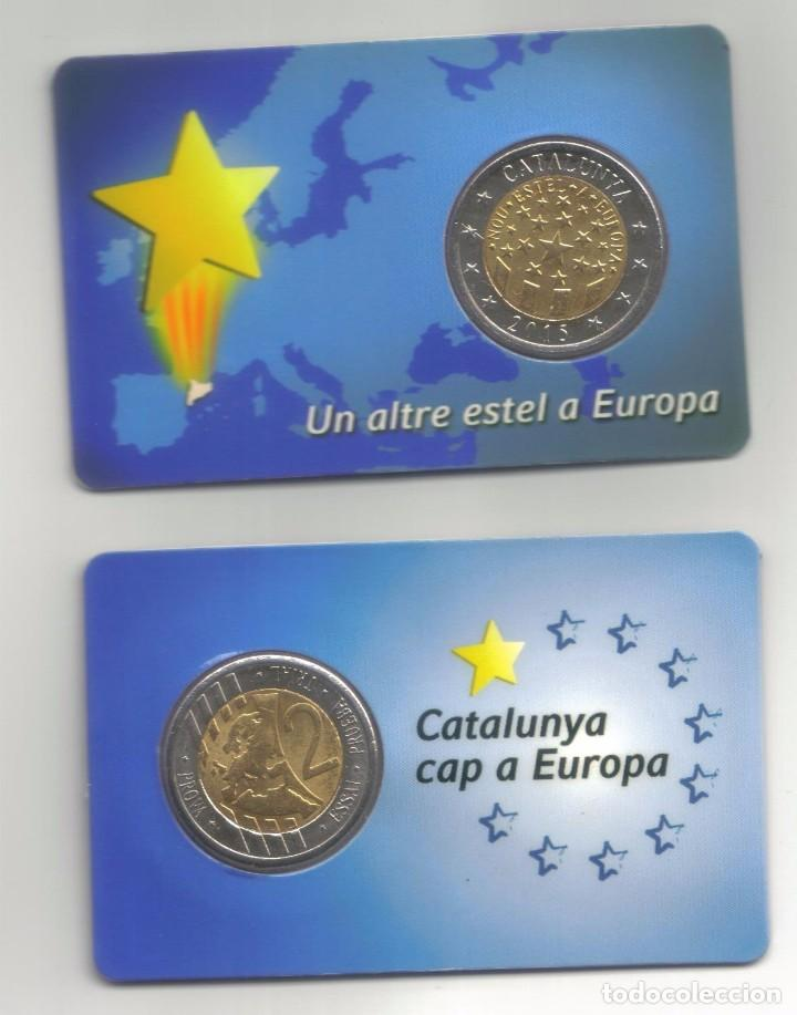 Monedas locales: PRUEBA MONEDA DE 2 DE CATALUNYA 2014 + 2015 - Foto 4 - 105194800