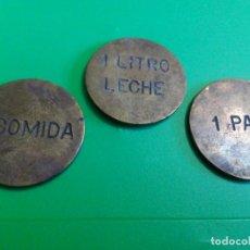 Monedas locales: LOTE DE TRES FICHAS DE JEREZ. Lote 62679616