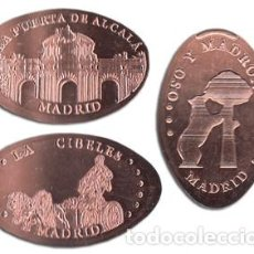 Monedas locales: MADRID M61 - MONEDA ELONGADA - ELONGATED COIN - SMASHED COIN. Lote 117427040