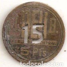 Monedas locales: FICHA DE BORNE. MERCADO CENTRAL. Lote 64024647