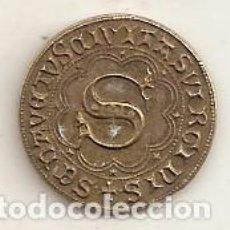 Monedas locales: FICHA DE IMITACIÓN MEDIEVAL. Lote 65691350