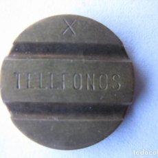 Monedas locales: FICHA TELEFONO TELEFONOS. Lote 66199918