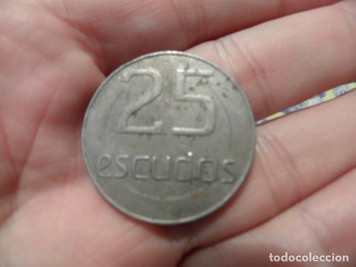 FR- PRECIOSA FICHA TOKEN 25 ESCUDOS CASINO DA MADEIRA PORTUGAL (Numismática - España Modernas y Contemporáneas - Locales y Fichas Dinerarias y Comerciales)