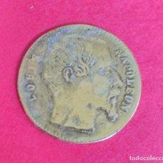 Monedas locales: JETON. TOKEN. FICHA. ALEMANIA. LUIS NAPOLEÓN. SPIELMARKE. 1,5 CM. LATON.. Lote 68297777