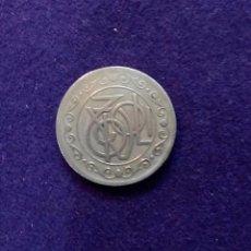Monedas locales: FICHA ORIGINAL DE BARCELONA DE CAFE RESTAURANT TIVOLI. 2 PESETAS.. Lote 68723741