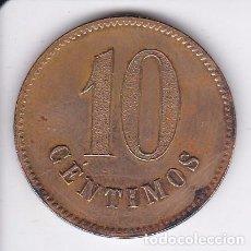Monedas locales: MONEDA DE 10 CENTIMOS DEL MAQUINAS AUTOPARK DE BARCELONA. Lote 69870385