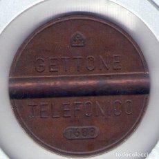 Monedas locales: FICHA TELÉFONOS PÚBLICOS ITALIA. Lote 69871785