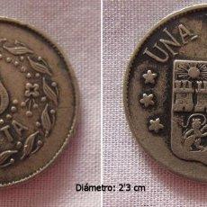 Monedas locales: FICHA ANTIGUA CASINO CIRCULO JUMILLA MURCIA. Lote 75824895