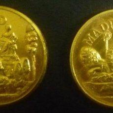 Monedas locales: DOS FICHAS DE MADRID. Lote 75926343
