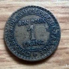 Monedas locales: FRANCIA. FRANCO DE CÁMARAS DE COMERCIO. 1923. Lote 76092435