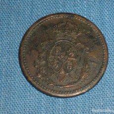 Monedas locales: FICHA ESCUDO ALFONSINO EB. Lote 76763383