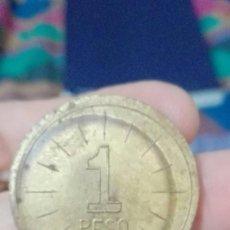 Monedas locales: 22- RARA FICHA VALOR UN PESO GUANTANAMO CUBA YNGENIO SAN YDELFONSO VALE EN MERCANCIAS. Lote 77503101