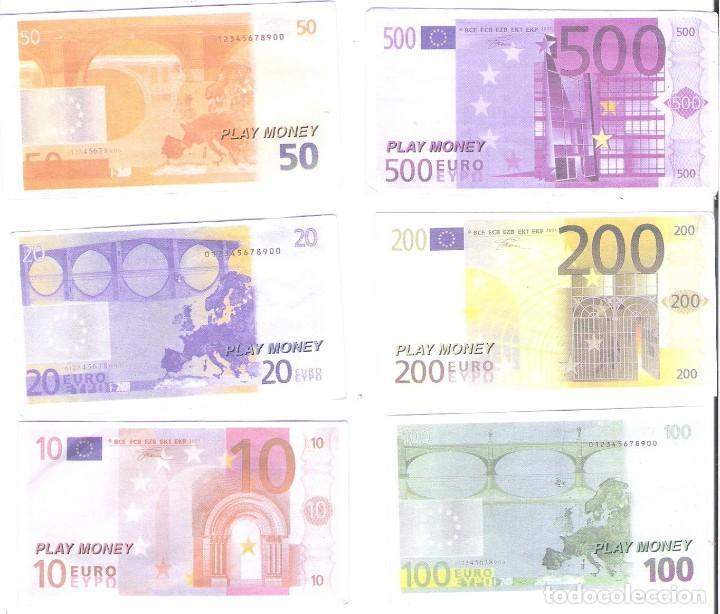 De Money Billetes Juguete 6 500200100502010play w8nyvmN0O