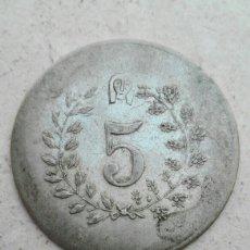 Monedas locales: FICHA CÍRCULO DE BELLAS ARTES VALENCIA. Lote 83023864
