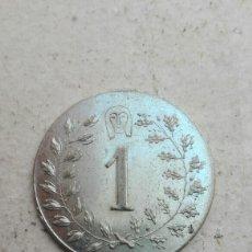 Monedas locales: FICHA CÍRCULO DE BELLAS ARTES VALENCIA. Lote 83024063