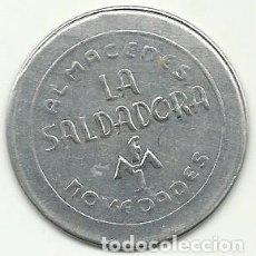 Monedas locales: (FCP-13)FICHA 15 CTS.ALMACENES LA SALVADORA NOVEDADES DE BARCELONA. Lote 83406660