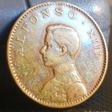 Monedas locales: FICHA PUBLICITARIA. ALFONSO XIII. ENSAYADOR: NUERNSERG. Lote 83629240