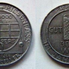 Moedas locais: MUY RARO JETON ALEMANIA DURKHEIMER RIESENFASS 1934. Lote 84533304