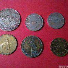 Monedas locales: LOTE DE TOKENS/FICHAS/JETONES COMERCIALES. VER.. Lote 84871540