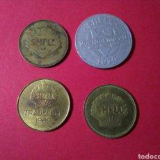 Monedas locales: LOTE DE JETONES/FICHAS/TOKENS. SHELL.. Lote 84871720