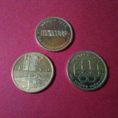 Monedas locales: LOTE DE TOKENS/FICHAS/JETONES. JUEGOS OLÍMPICOS TOKIO.. Lote 84871856