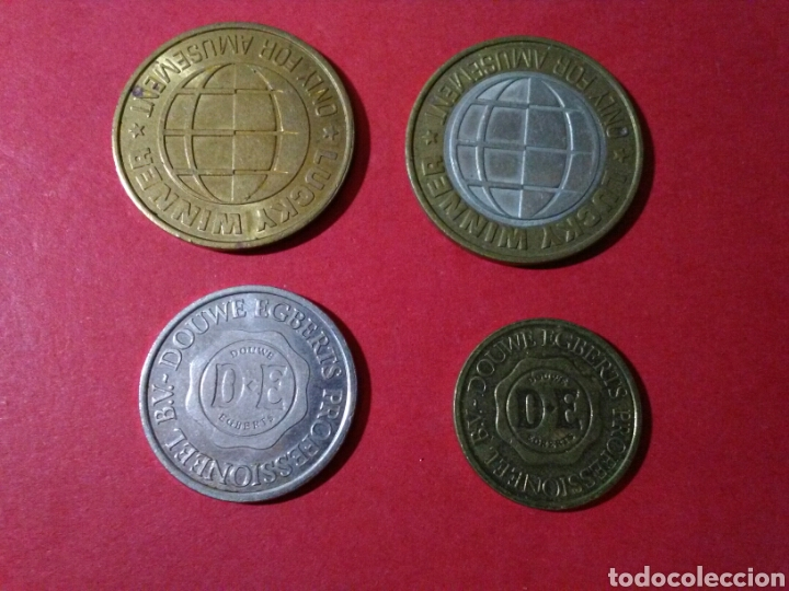 Monedas locales: LOTE DE FICHAS/JETONES/TOKENS. FICHAS DE JUEGO. - Foto 2 - 84872030