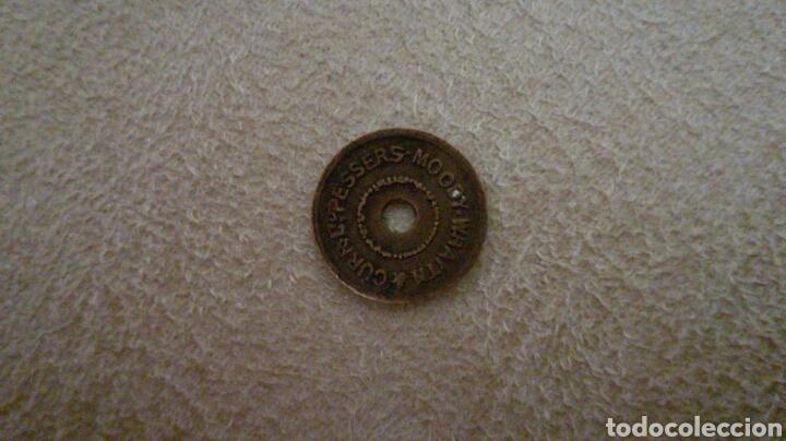 FICHA INGLESA PEQUEÑA (Numismática - España Modernas y Contemporáneas - Locales y Fichas Dinerarias y Comerciales)