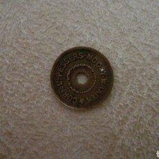 Monedas locales: FICHA INGLESA PEQUEÑA. Lote 86488170